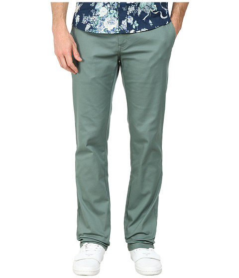 Volcom - Frickin Modern Stretch Chino (Forest) Men's Casual Pants