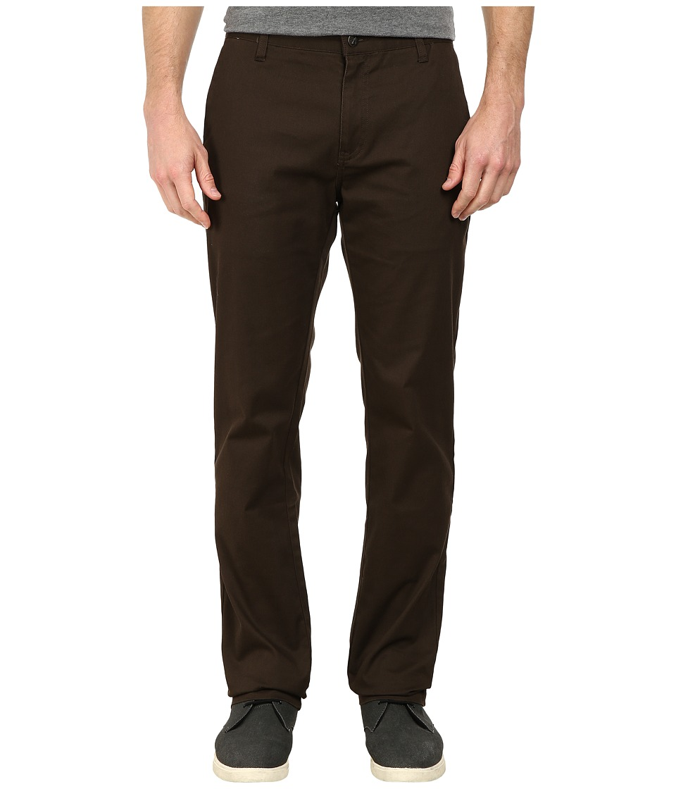 Volcom - Frickin Modern Stretch Chino (Bark Brown 1) Men's Casual Pants