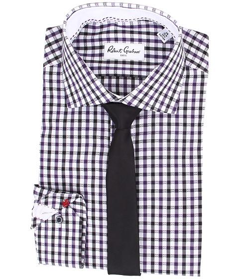 Robert Graham - Berlin Dress Shirt (Purple) Men's Long Sleeve Button Up