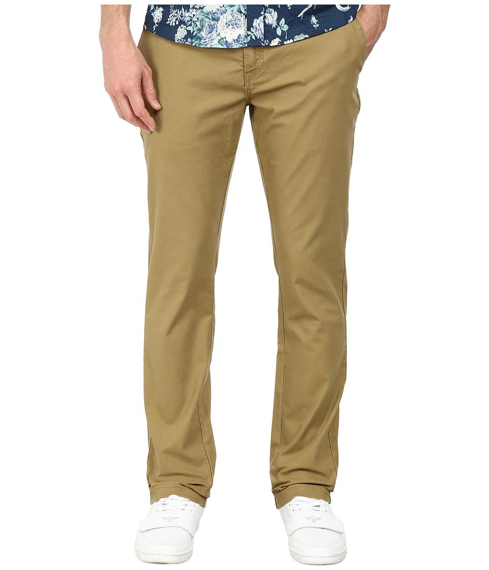 Volcom - Frickin Slim Canvas Pants (Dark Khaki) Men's Casual Pants