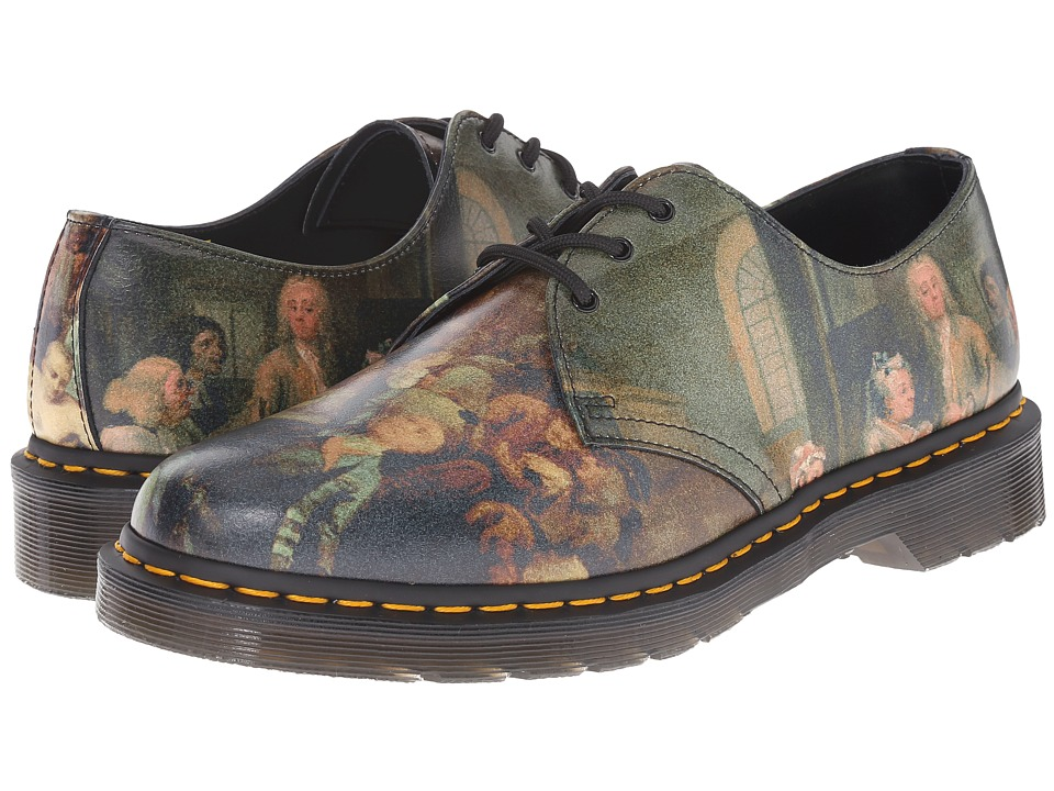 Dr. Martens - 1461 3-Eye Shoe (Multi) Lace up casual Shoes