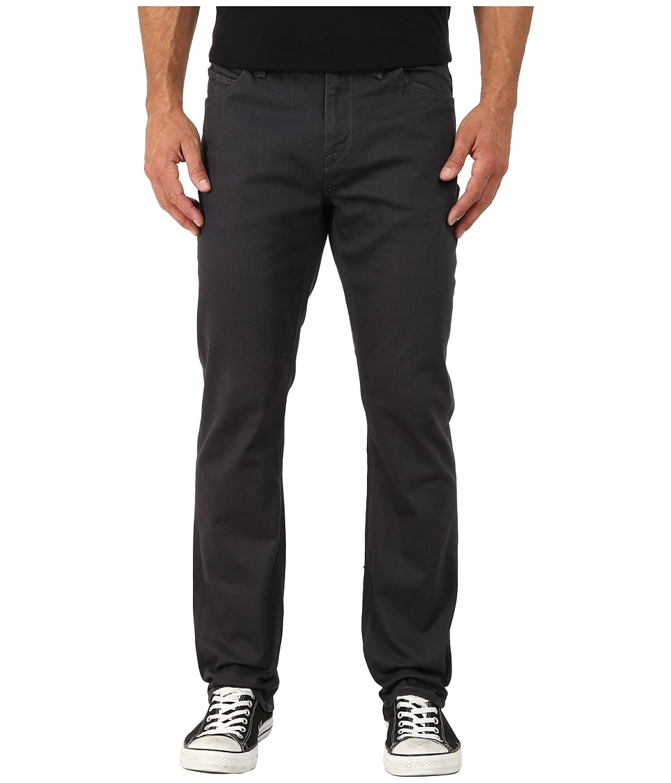 Volcom - Solver Twill Pants (Charcoal) Men's Casual Pants