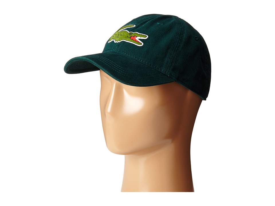Lacoste - Big Croc Gabardine Cap (Box) Baseball Caps
