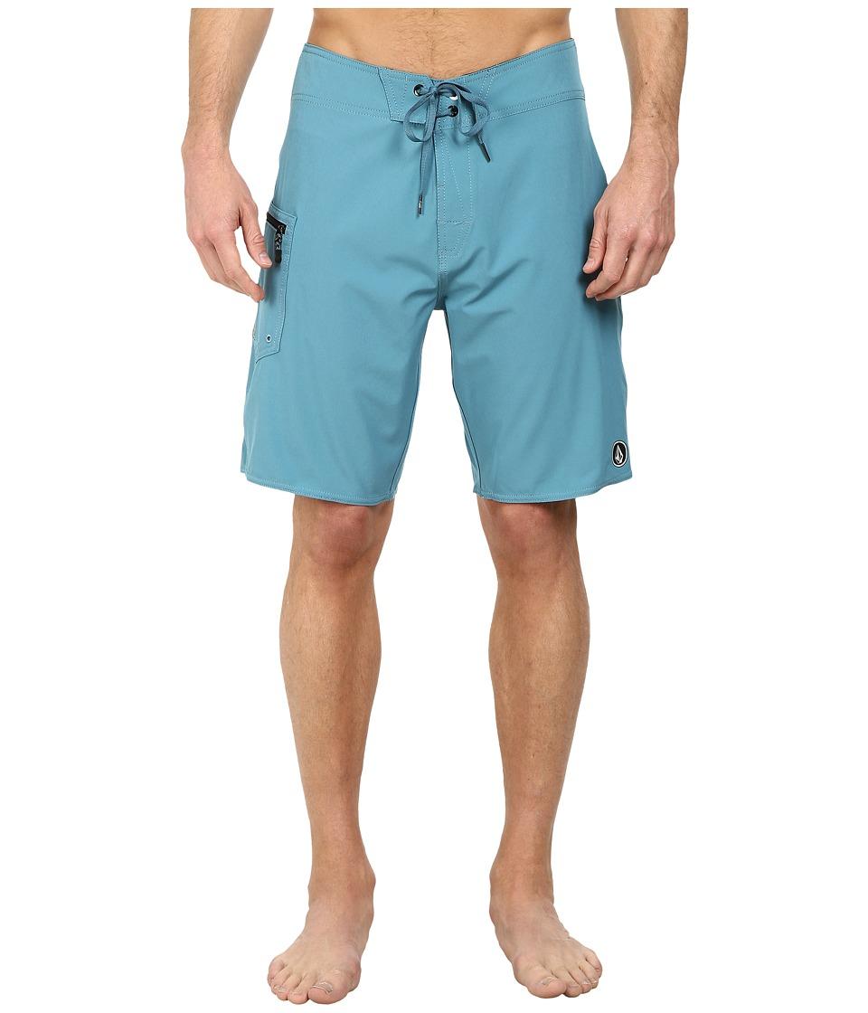Volcom - Lido Solid 20 Boardshort (Stormy Blue) Men's Swimwear
