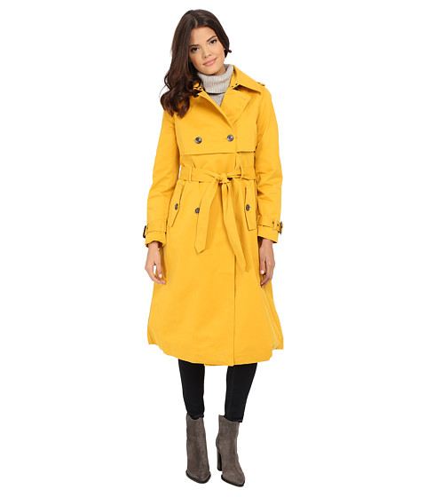 G.E.T. - Maxi Trench Coat (Tawny) Women's Coat