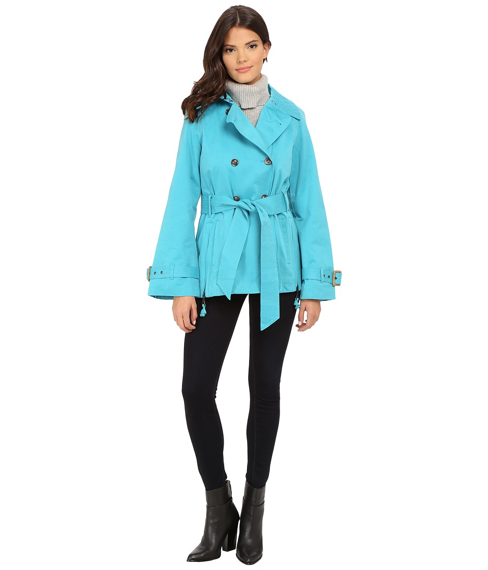 G.E.T. - Half Trench (Turquoise) Women