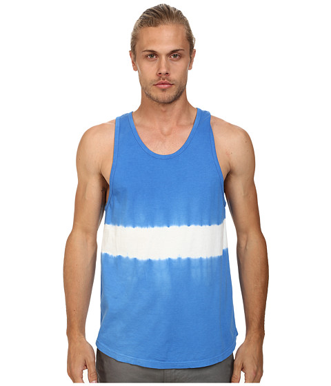 Alternative - Cotton Modal Tank Top (Bright Blue Dip) Men