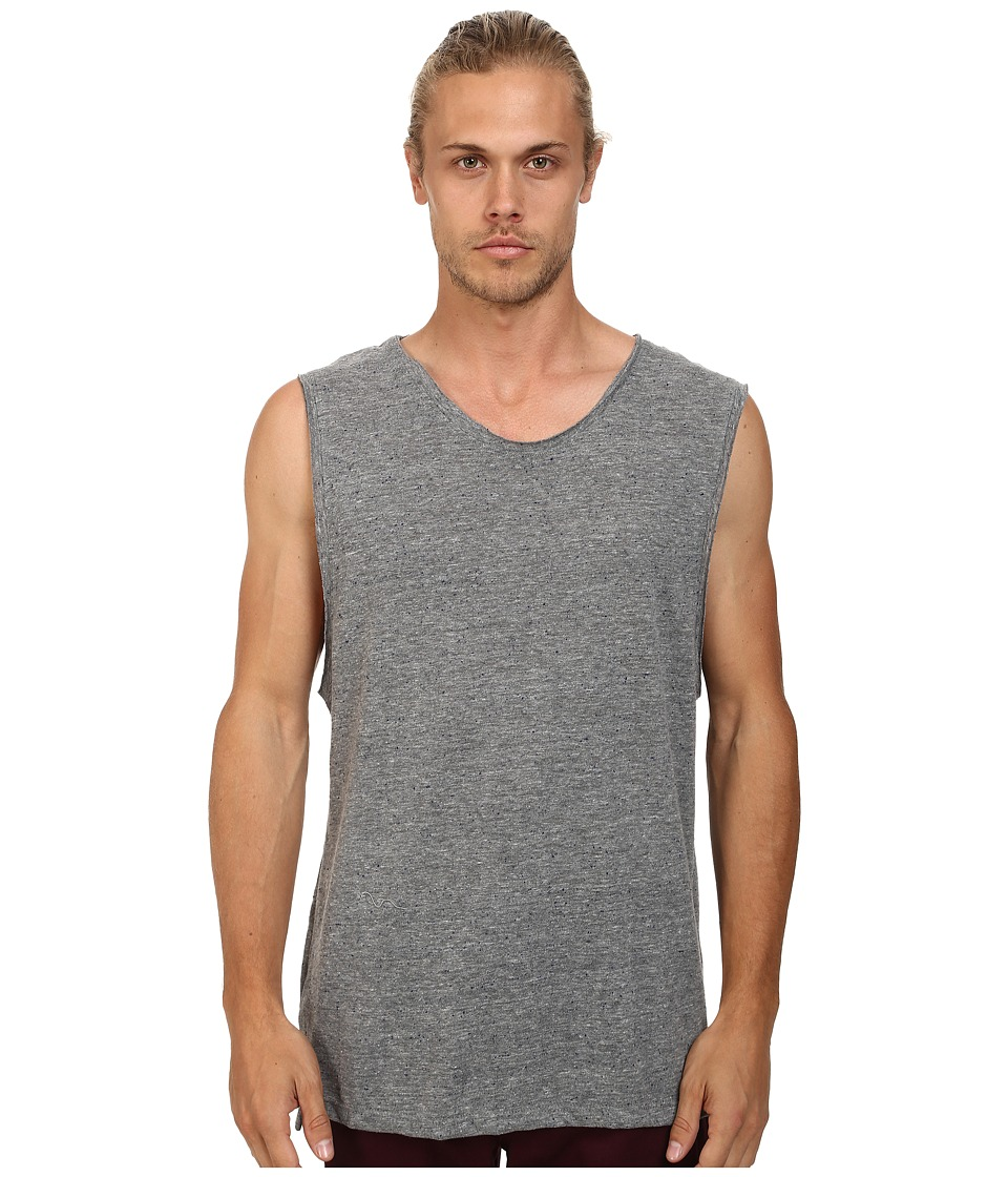 Alternative - Nep Jersey Muscle Tank Top (Eco Grey) Men's Sleeveless