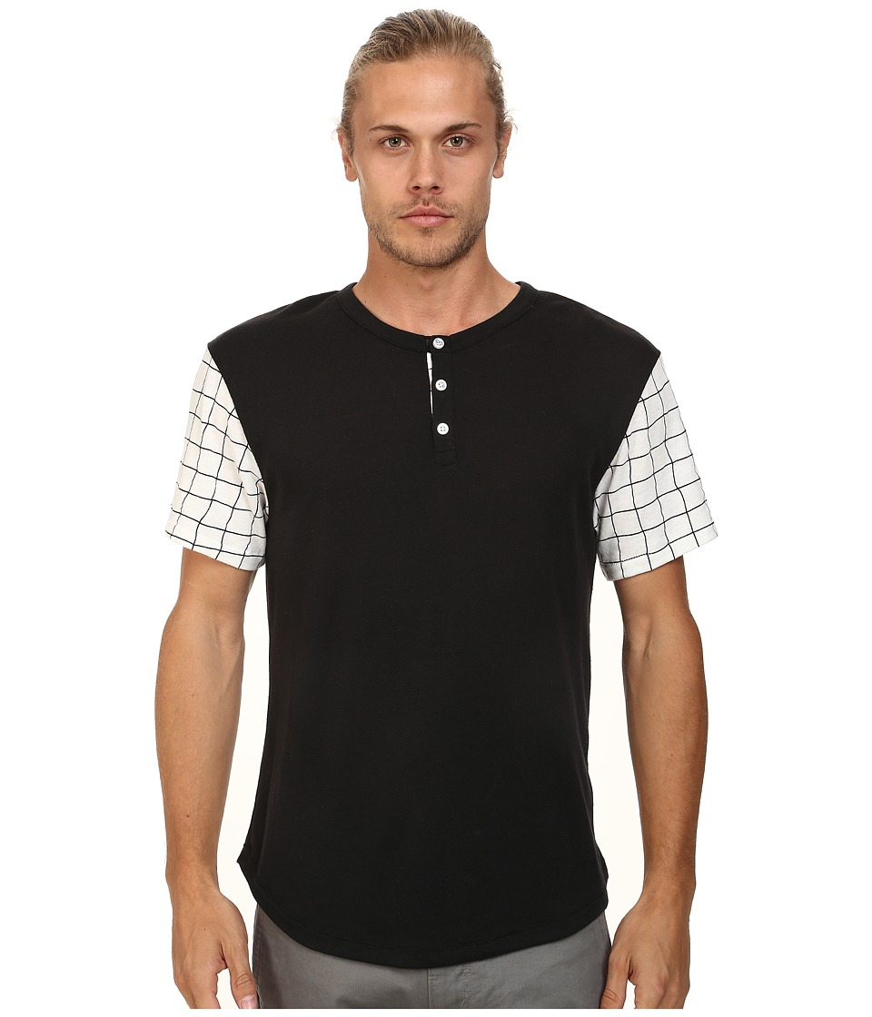 Alternative - Home Run Tee (Black Grid) Men