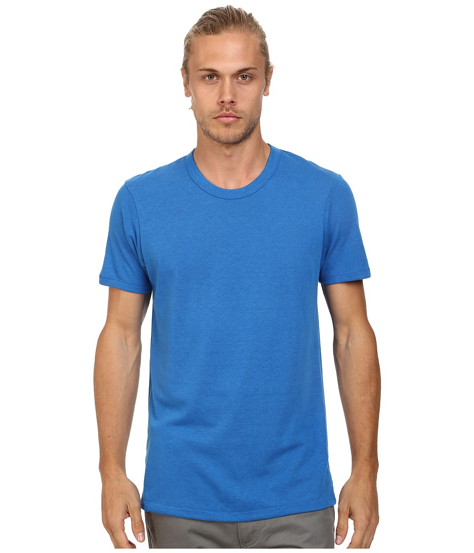 Alternative - S/S Crew Tee (Eco True Bright Blue) Men's T Shirt
