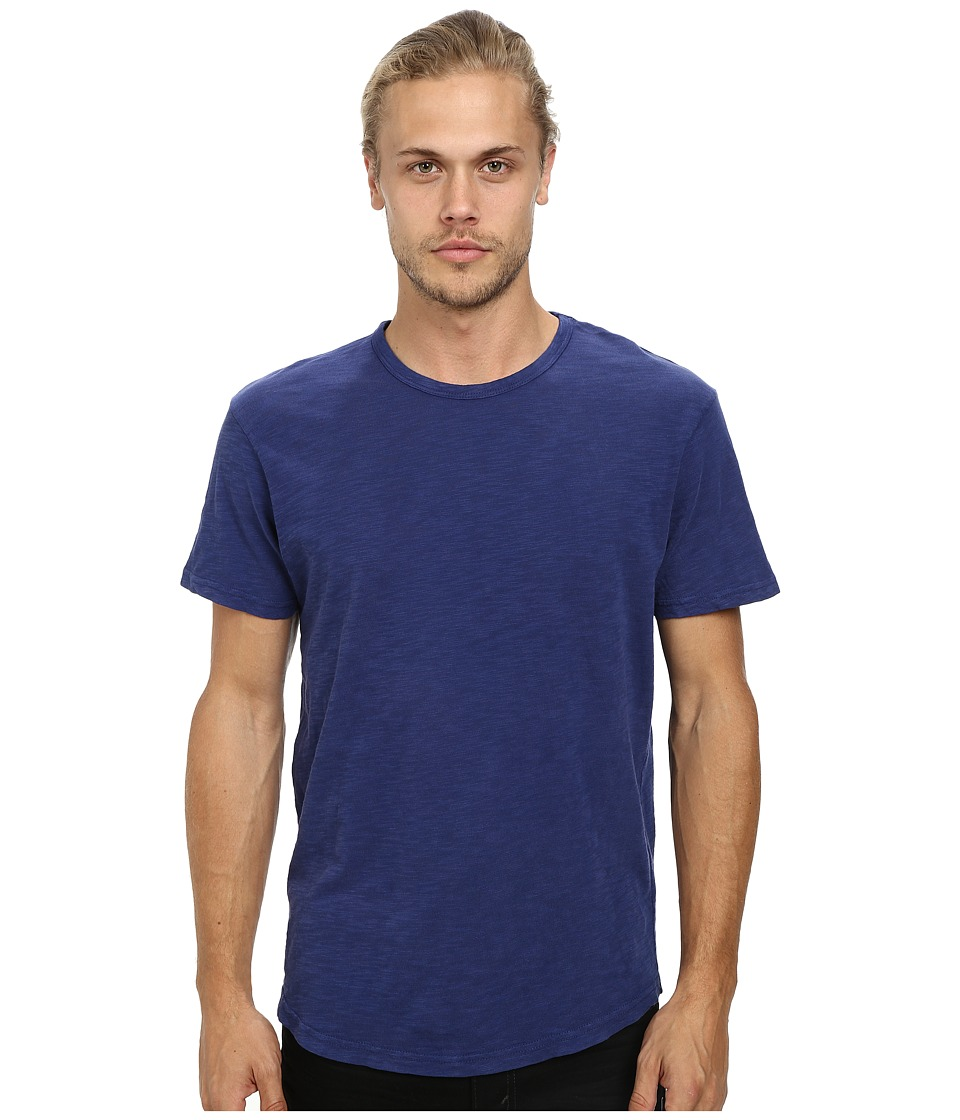 Alternative - Washed Out Slub Crew (Midnight) Men's T Shirt
