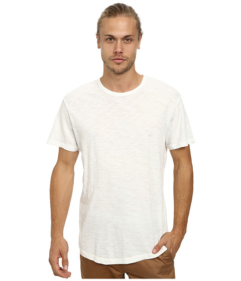 Alternative - Washed Out Slub Crew (Vintage White) Men