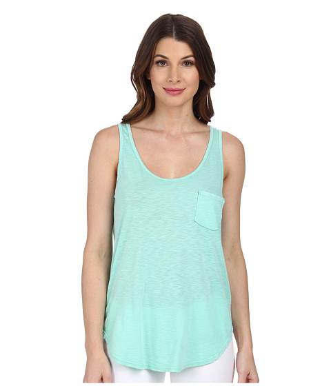 LAmade - Boyfriend Tank w/ Pocket (Tiffany) Women's Sleeveless