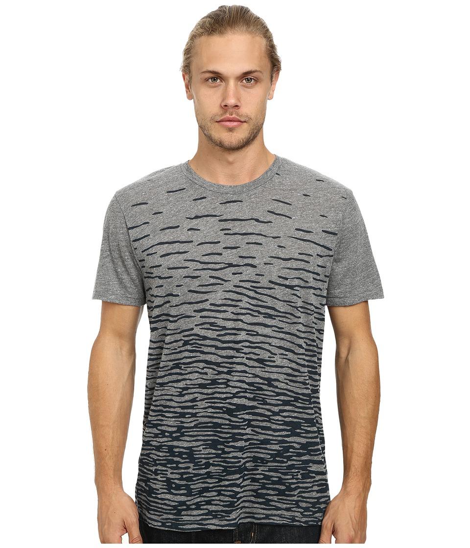 Alternative - Eco Crew (Eco Grey Ripples) Men's Short Sleeve Pullover