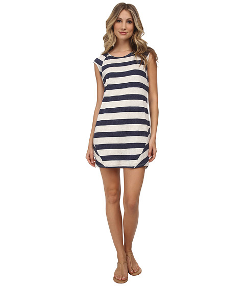 LAmade - Ray Dress (Navy/Natural) Women