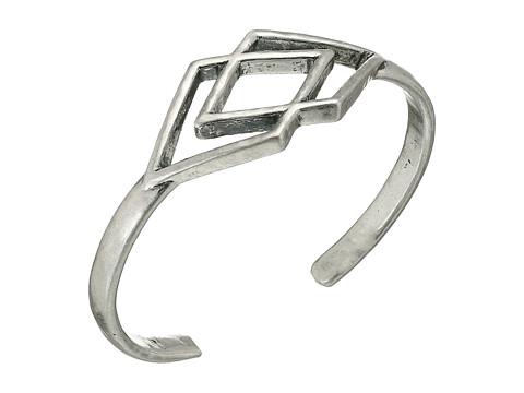 Lucky Brand - Geo Cuff Bracelet (Silver) Bracelet