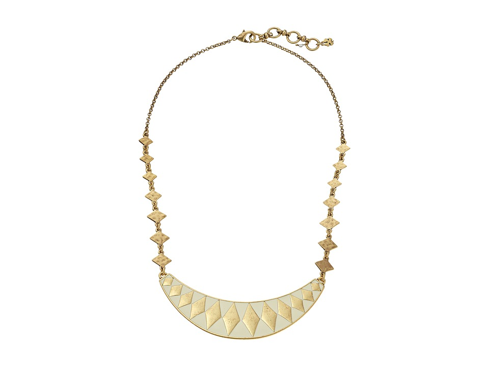 Lucky Brand - Enamel Collar Necklace (Gold) Necklace