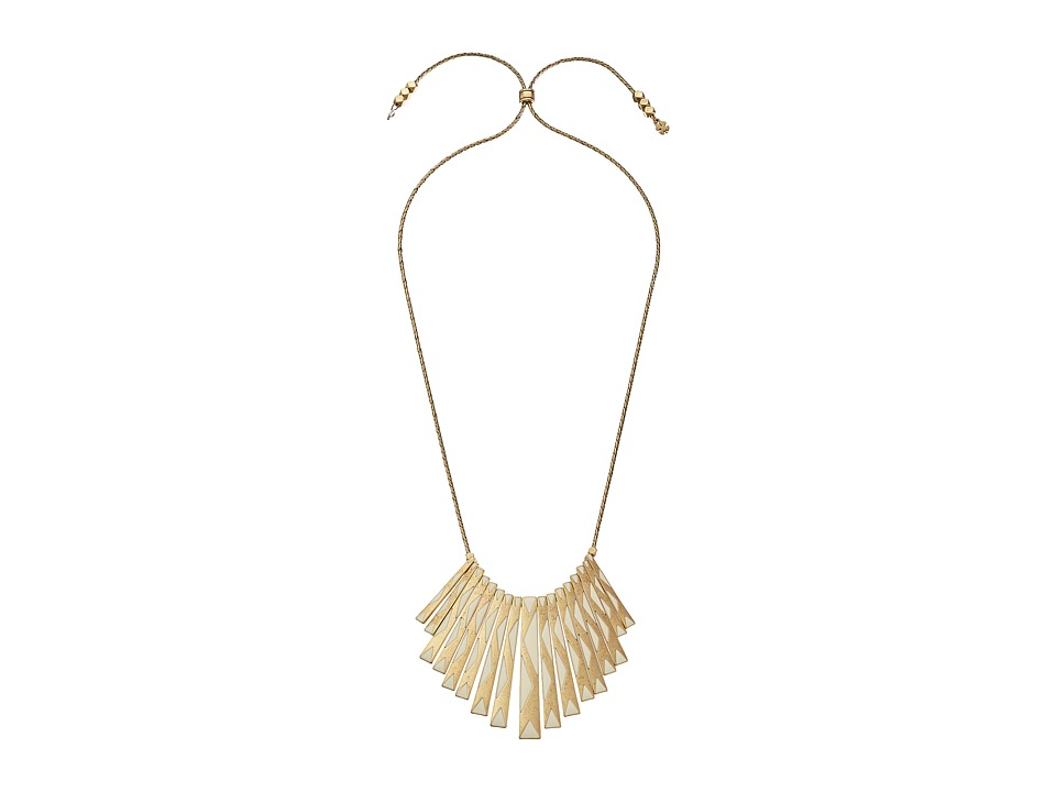 Lucky Brand - Gold Paddle Necklace (Gold) Necklace
