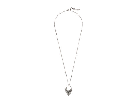 Lucky Brand - Pyramid Pendant Necklace (Silver) Necklace