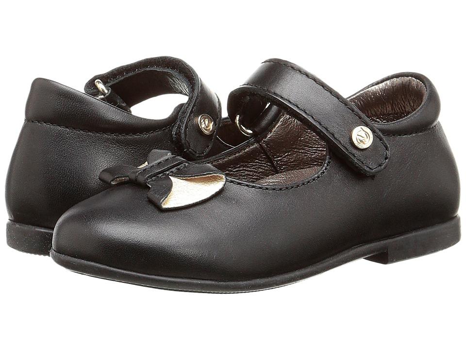 Naturino - Nat. 3669 (Toddler/Little Kid) (Black) Girl's Shoes