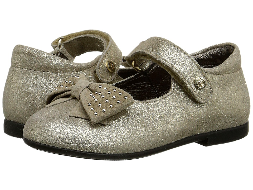 Naturino - Nat. 3772 (Toddler/Little Kid) (Gold) Girl's Shoes