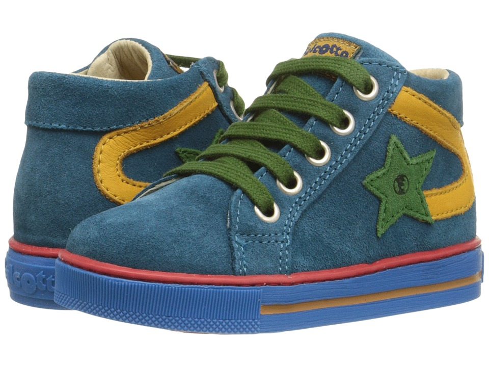 Naturino - Falcotto Alf (Toddler) (Teal Blue) Boy's Shoes