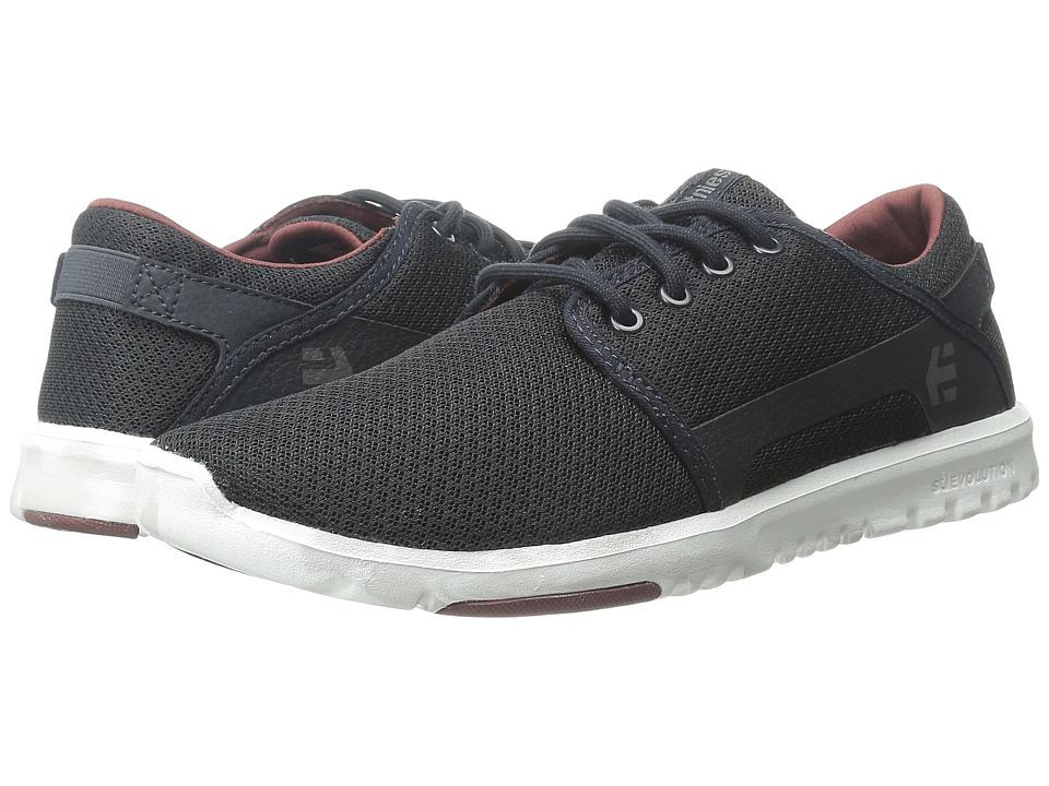 etnies - Scout (Navy/Red/White) Men's Skate Shoes