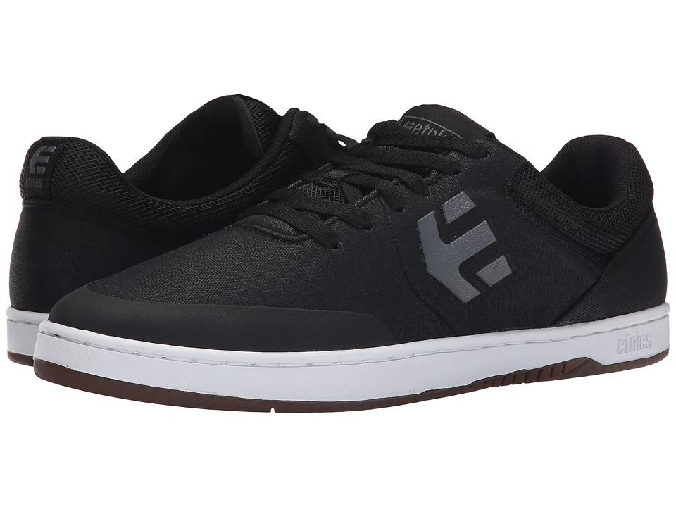 etnies - Marana (Black/Grey/White) Men's Skate Shoes