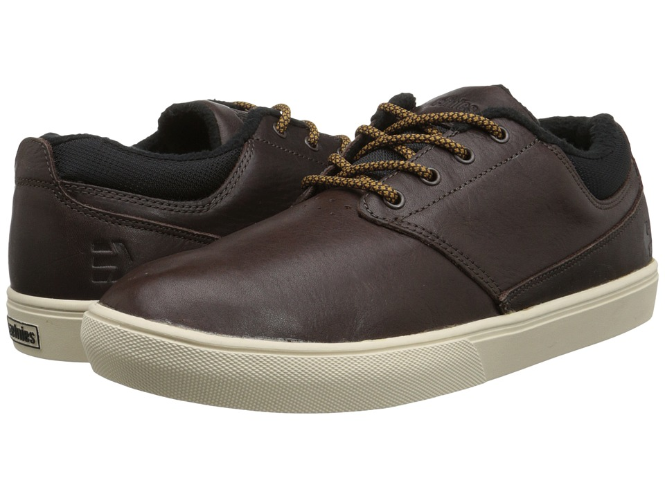 etnies - Jameson MT (Dark Brown) Men's Skate Shoes