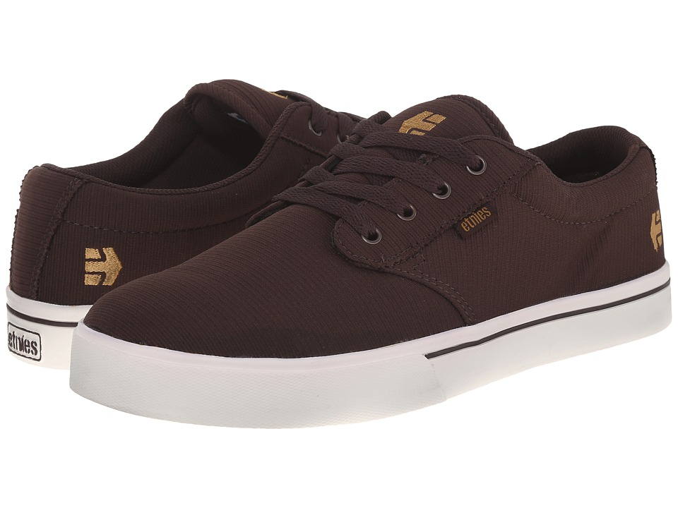 etnies - Jameson 2 Eco (Brown/White/Gum) Men's Skate Shoes