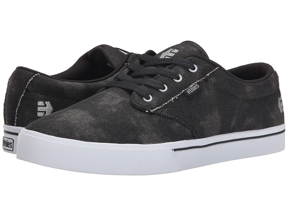 etnies - Jameson 2 Eco (Black/Charcoal) Men's Skate Shoes