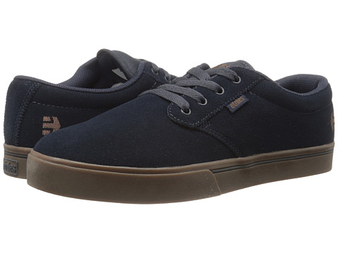etnies - Jameson 2 Eco (Navy/Navy/Gum) Men's Skate Shoes