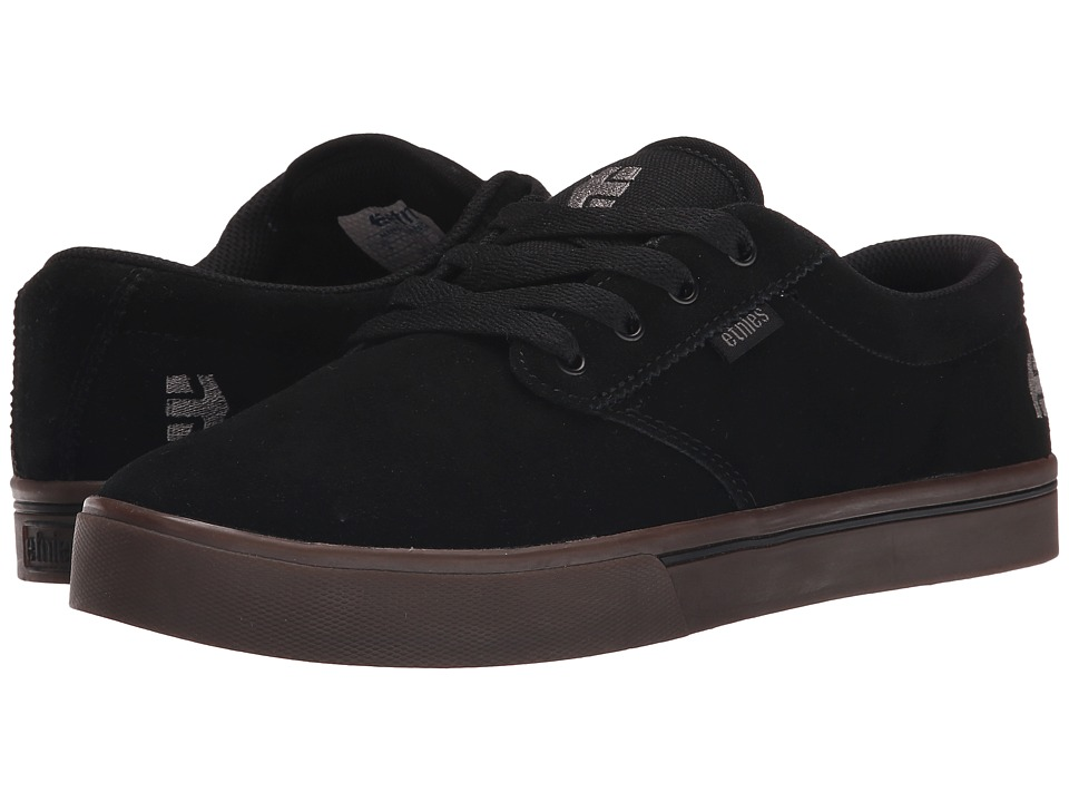 etnies - Jameson 2 Eco (Black/Black/Gum) Men's Skate Shoes