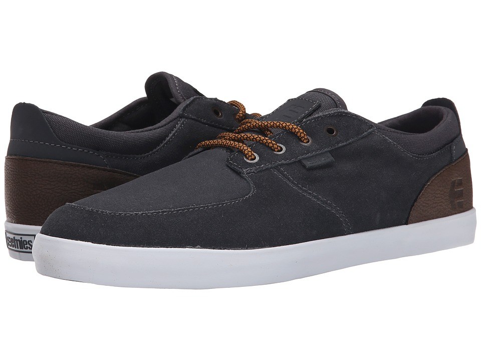 etnies - Hitch (Dark Grey/White) Men