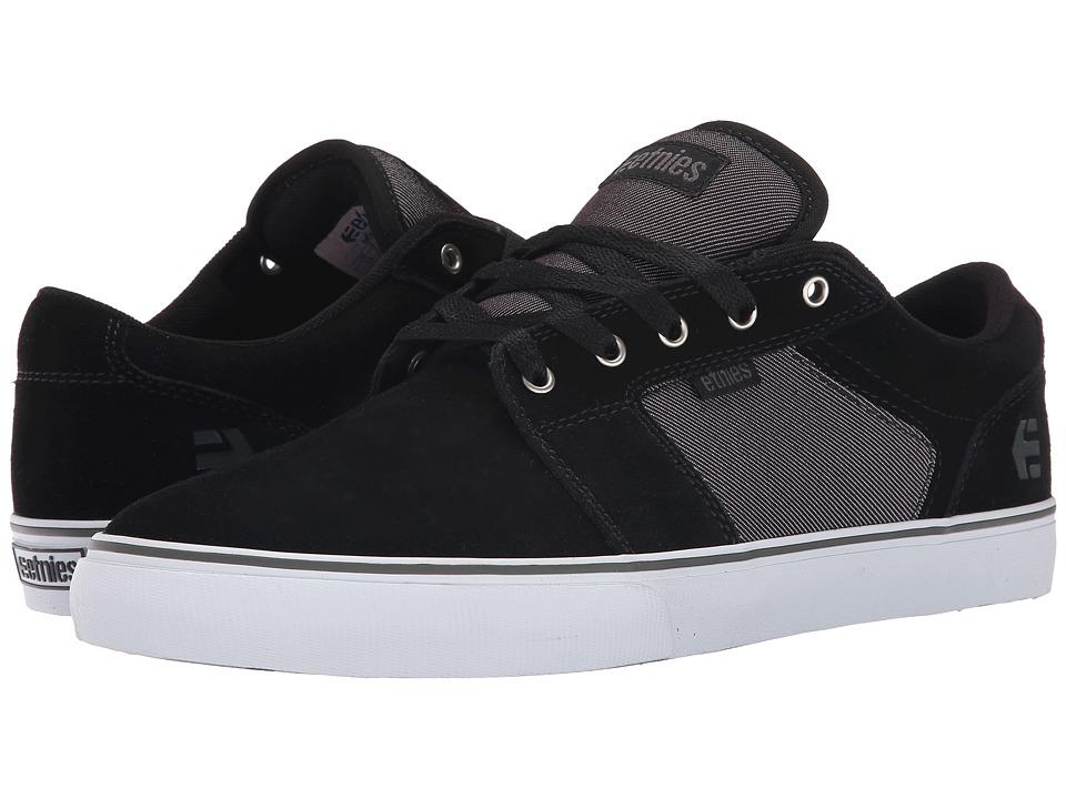 etnies - Barge LS (Black/Charcoal) Men