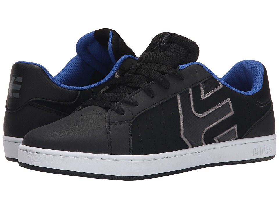 etnies - Fader LS (Black/Grey) Men