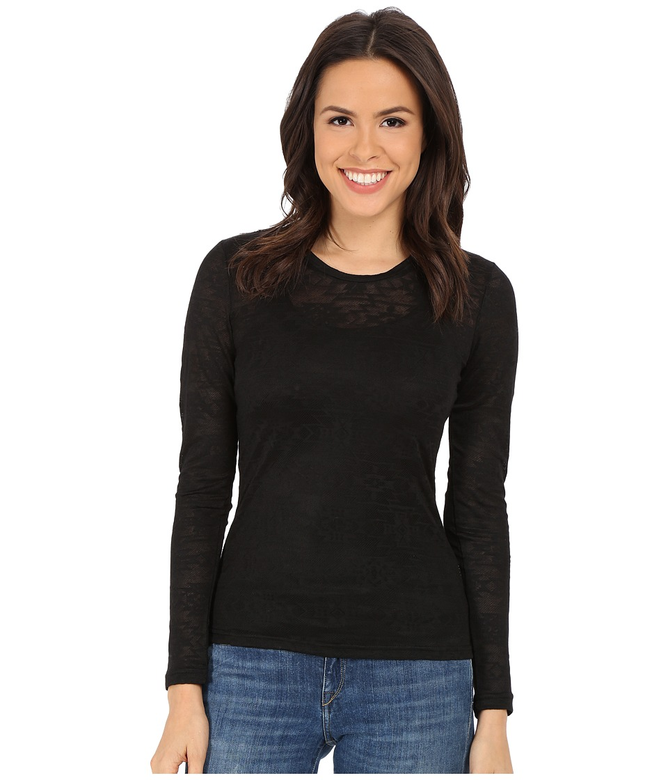 Ariat - Mojave Baselayer (Black) Women's Long Sleeve Pullover