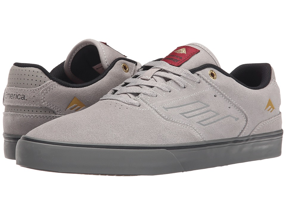 Emerica - The Reynolds Low Vulc (Grey/Grey) Men
