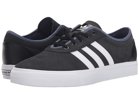 adidas Skateboarding - Adi-Ease (Carbon/White/Fade Ink) Men's Skate Shoes