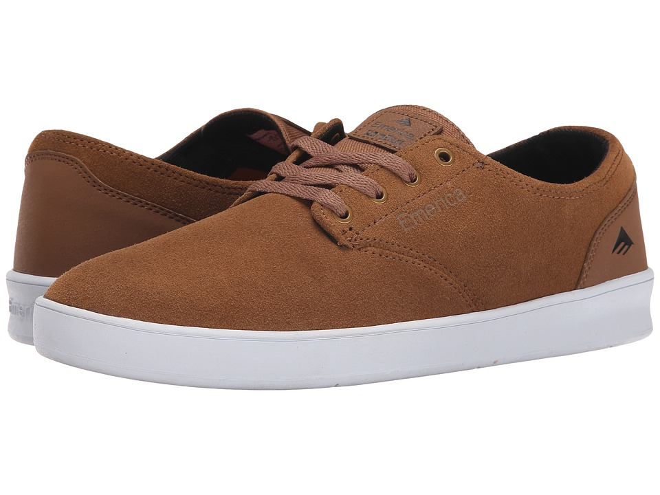Emerica - The Romero Laced (Brown/Black/White) Men's Skate Shoes