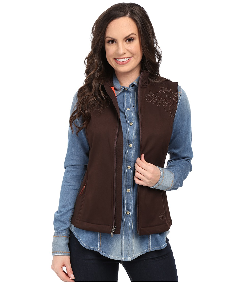 Ariat - Livia Vest (Coffee Vest) Women's Vest