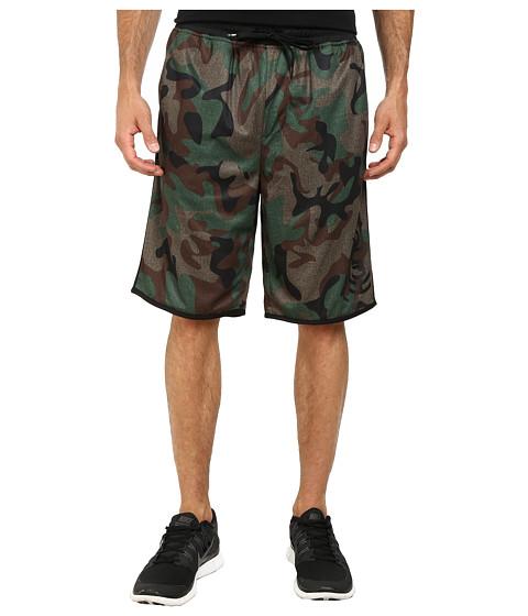 Hurley - Dri-FIT Force Mesh Walkshort (Camo Green) Men