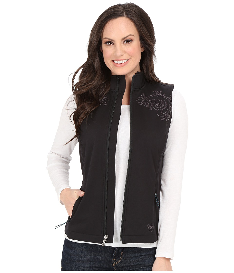 Ariat - Livia Vest (Black) Women's Vest