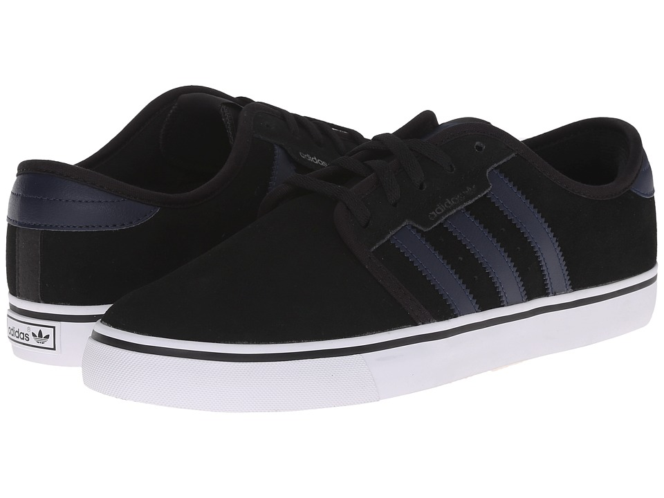 adidas Skateboarding - Seeley (Black/Collegiate Navy/White) Men's Skate Shoes