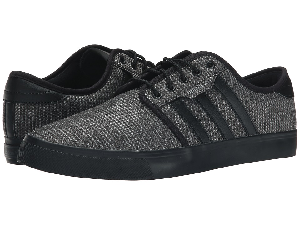 adidas Skateboarding - Seeley (Carbon/Black/Black) Men