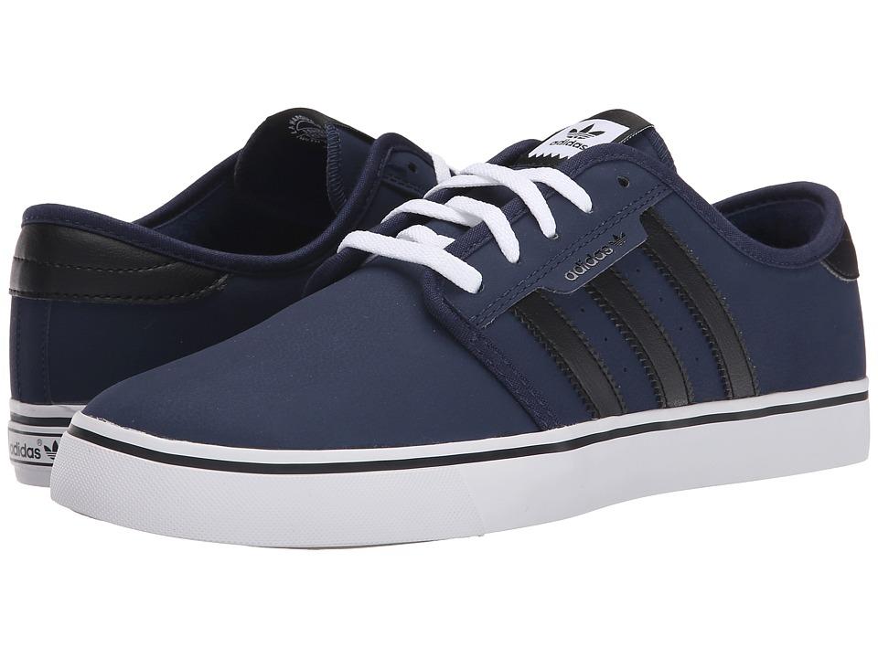 adidas Skateboarding - Seeley (Navy/Black/White) Men's Skate Shoes