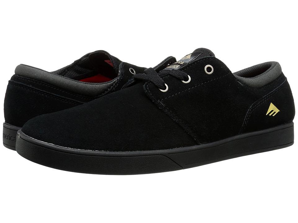 Emerica - The Figueroa (Black/Black) Men's Skate Shoes