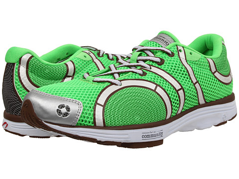Newton Running - The Learning Garden Shoe (Lime/Brown) Men