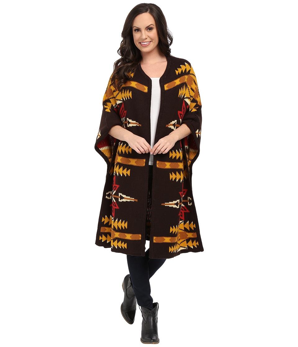 Ariat - Pendleton Wrap (Multi) Women's Coat