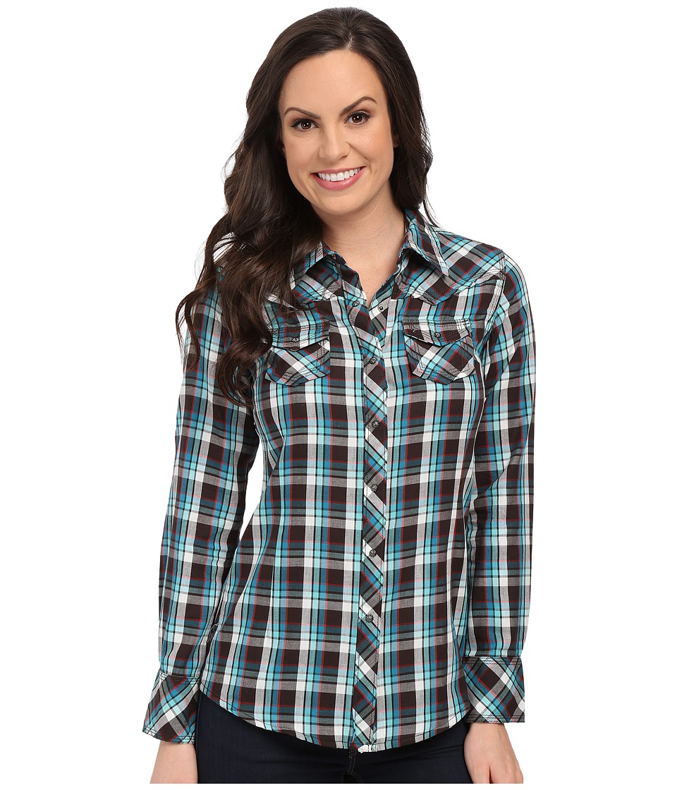 Ariat - Fields Snap Shirt (Multi) Women's Long Sleeve Button Up